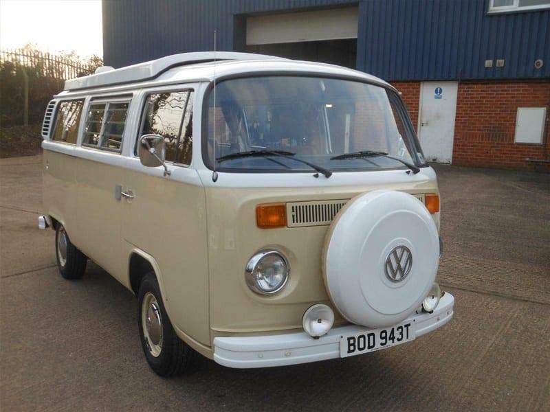 1979 Volkswagen Camper Type 2 Devon, Beige/White