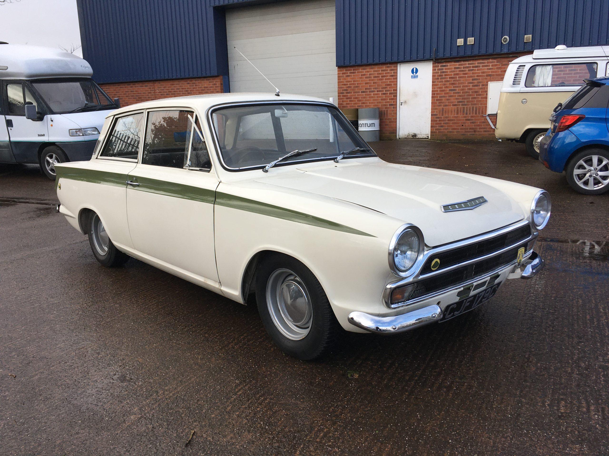 1965 Lotus Cortina Mk1, Original standard spec – SOLD